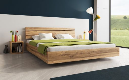 Boxspringbett Bergen aus Holz